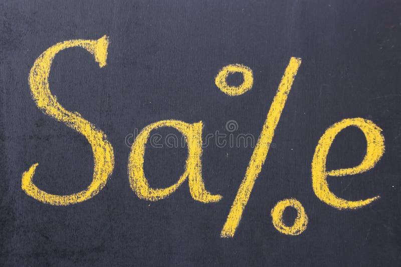 Mensaje de la venta de la tienda imagenes de archivo