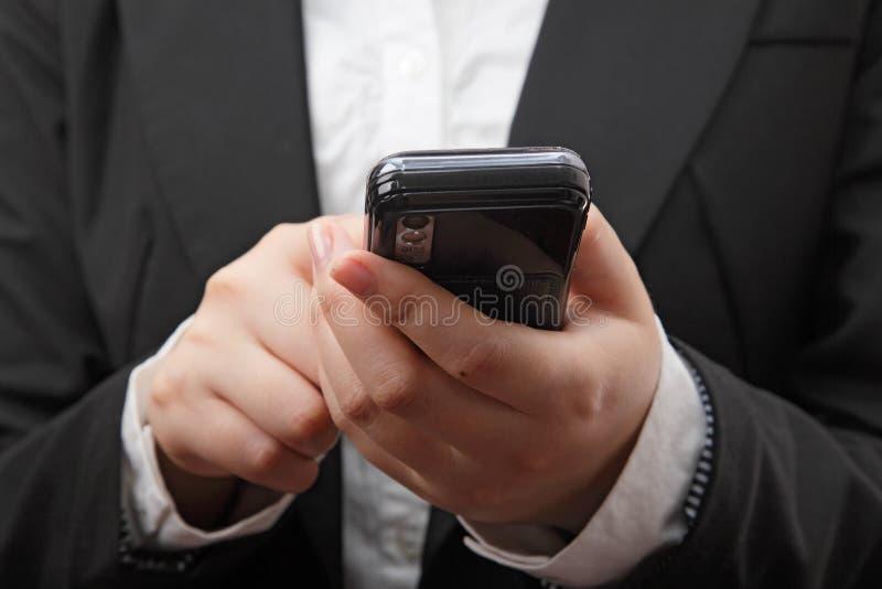 Mensaje de texto imagen de archivo libre de regalías