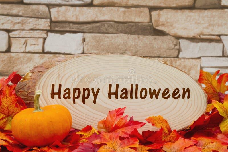 Mensaje del feliz Halloween imagen de archivo libre de regalías