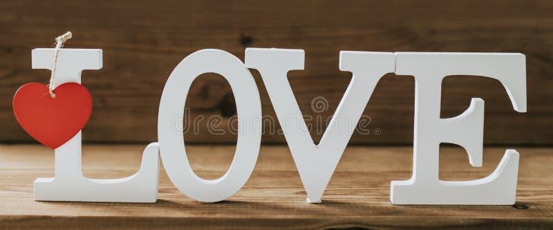 Mensaje y concepto del amor fotos de archivo