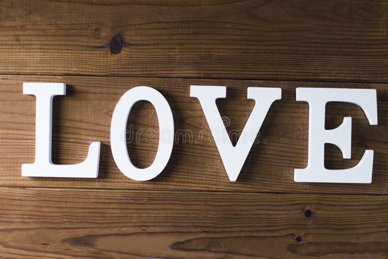 Mensaje y concepto del amor imagen de archivo libre de regalías