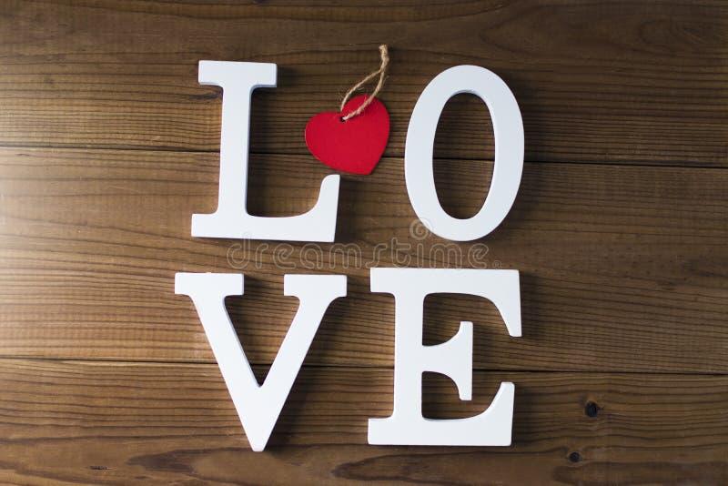 Mensaje y concepto del amor foto de archivo libre de regalías