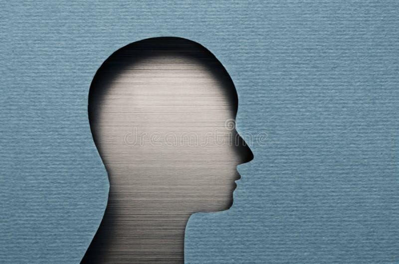 Menschenverstand stockbild
