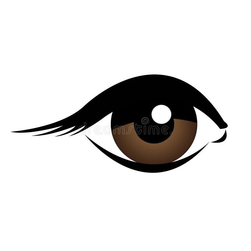 Menschliches Auge vektor abbildung