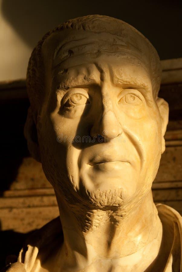 Menselijk hoofd stock foto
