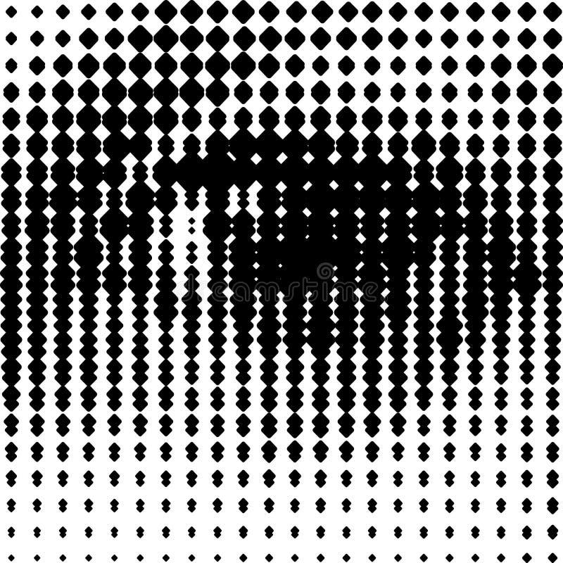 Menselijk Oog Nr 3 vector illustratie