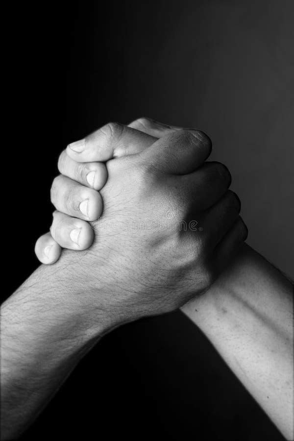 Menselijke handen royalty-vrije stock fotografie