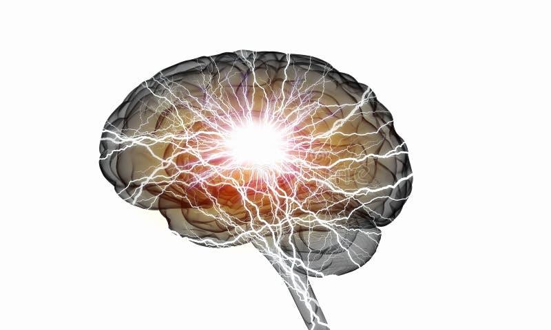 Menselijke hersenenimpuls