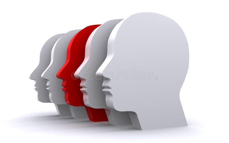 Menselijke hoofden