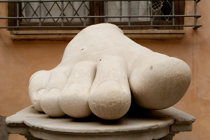 Menselijke voet royalty-vrije stock foto's