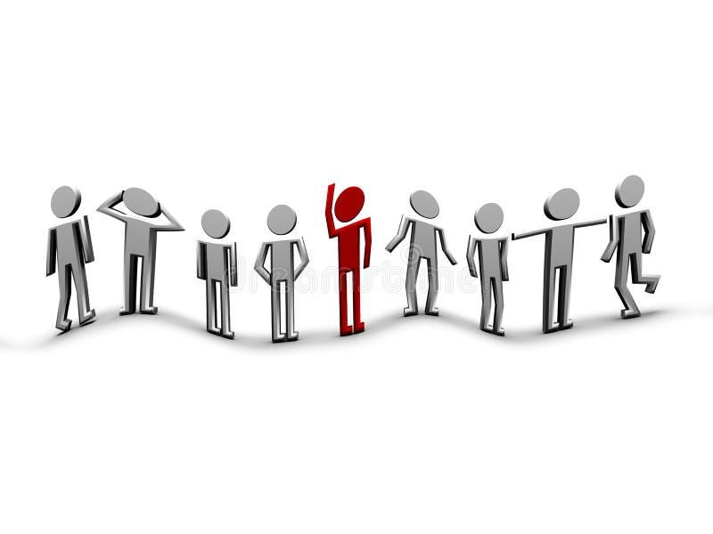 Download Mensen stock illustratie. Illustratie bestaande uit groep - 10783138
