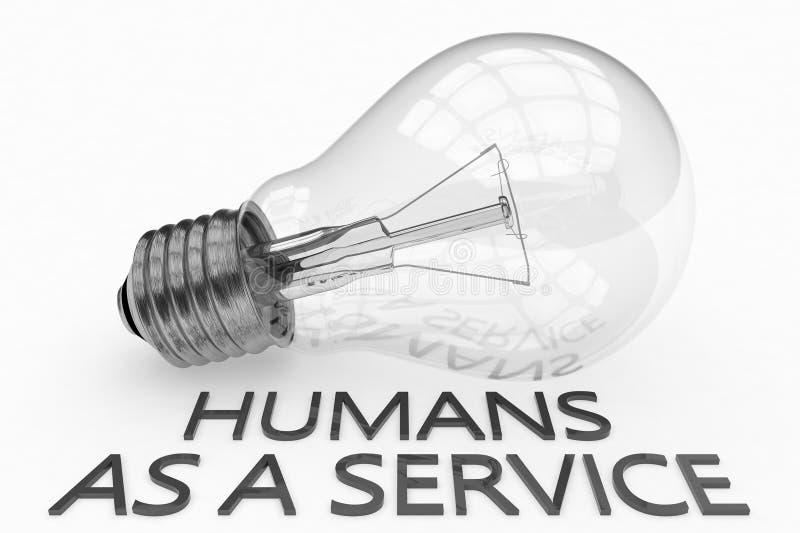 Mensen als service vector illustratie