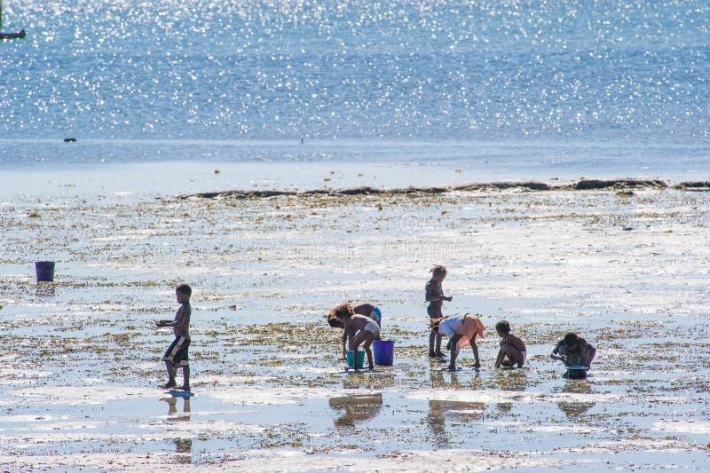 Mensen in ANTANANARIVO, MADAGASCAR royalty-vrije stock afbeeldingen