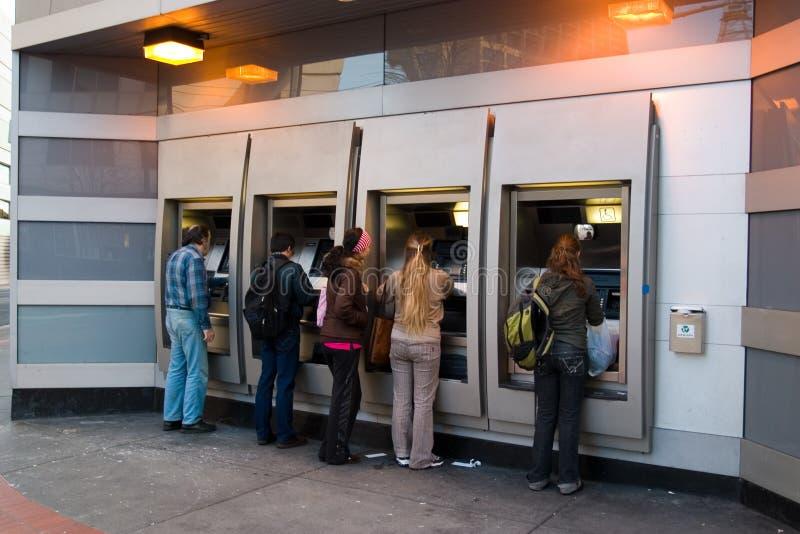 Mensen in ATM