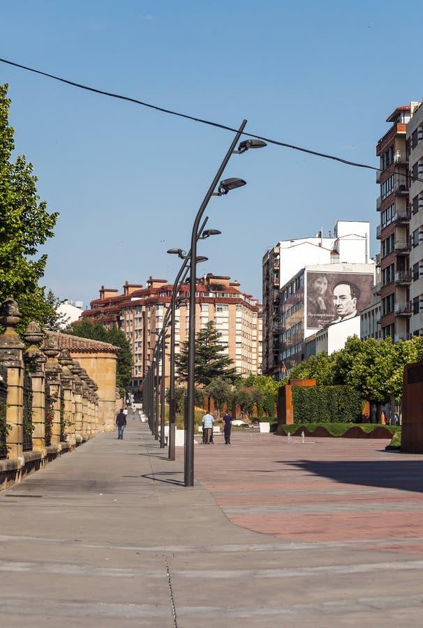 Mensen die op een straat lopen stock fotografie