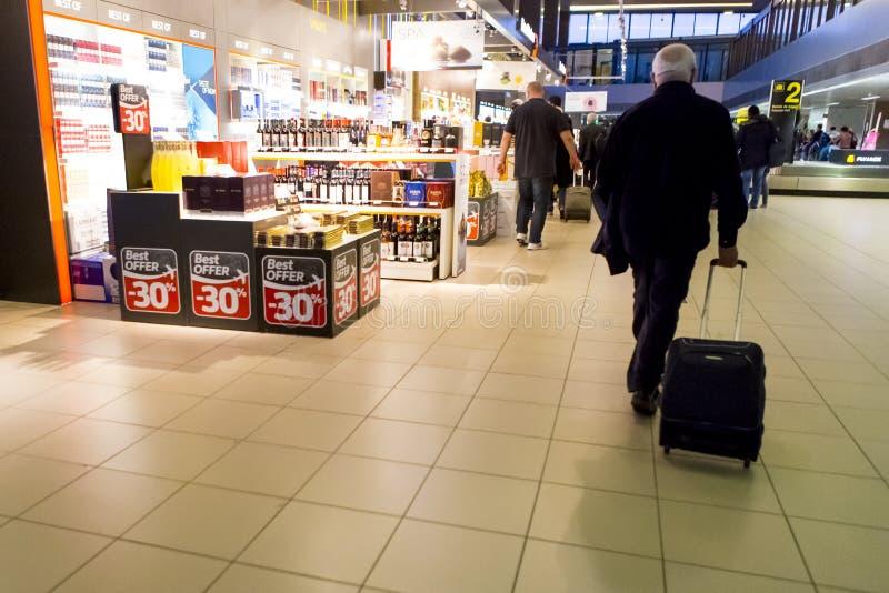 Mensen die van het winkelen gebied kopen stock foto