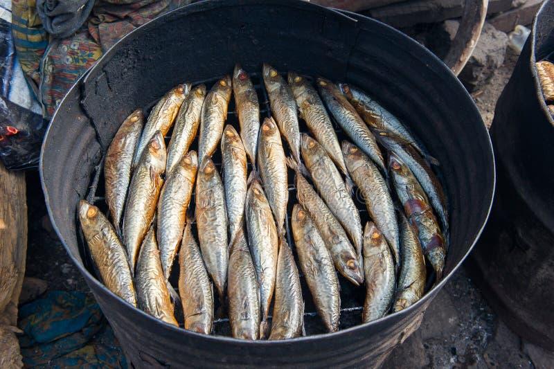 Mensen in GHANA stock afbeelding