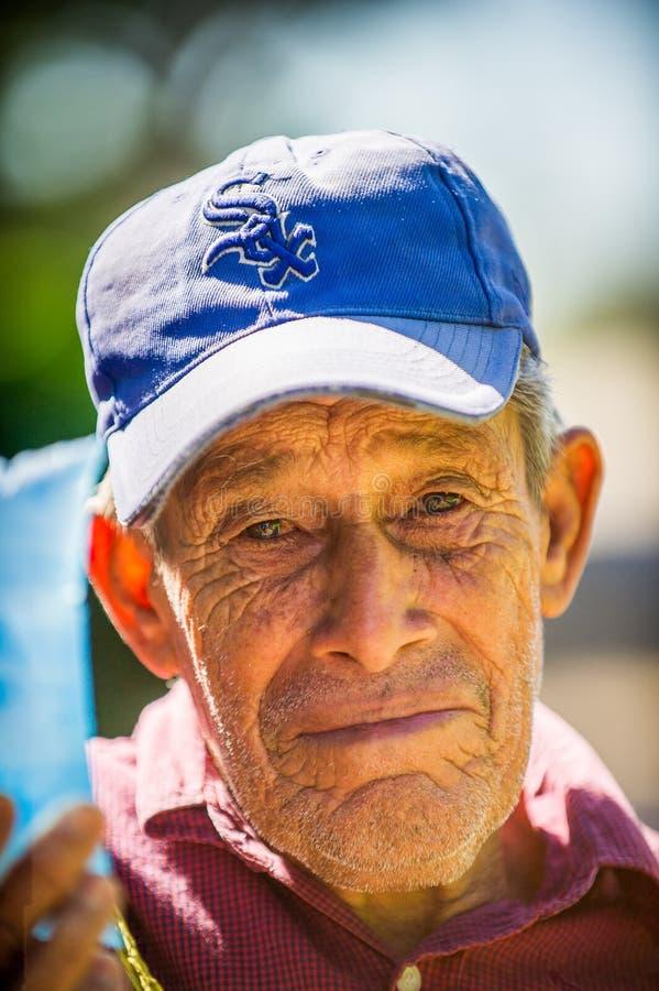 Mensen in MANAGUA, NICARAGUA royalty-vrije stock foto's