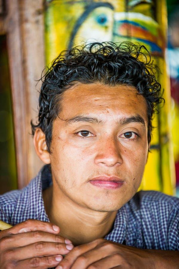 Mensen in MANAGUA, NICARAGUA royalty-vrije stock afbeelding