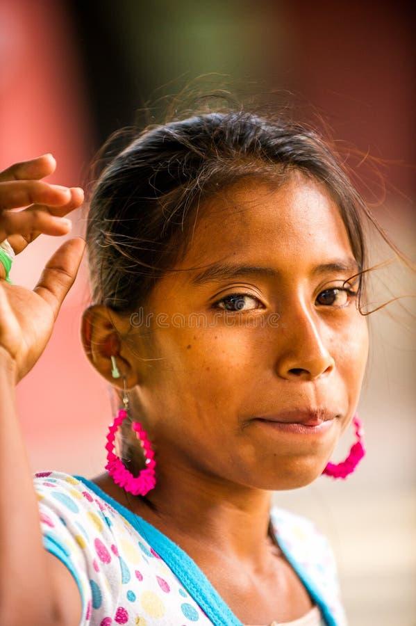 Mensen in MANAGUA, NICARAGUA stock fotografie
