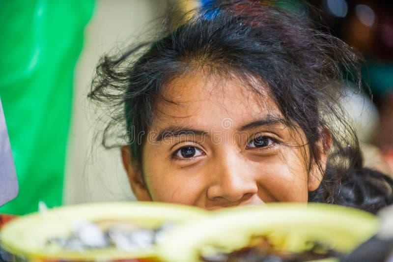 Mensen in MANAGUA, NICARAGUA stock foto's