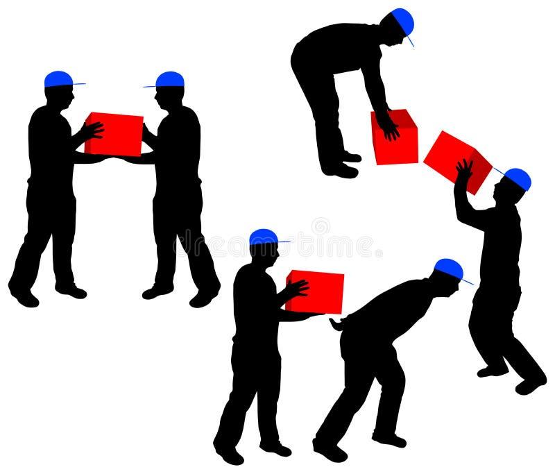 Mensen op het werk vector illustratie