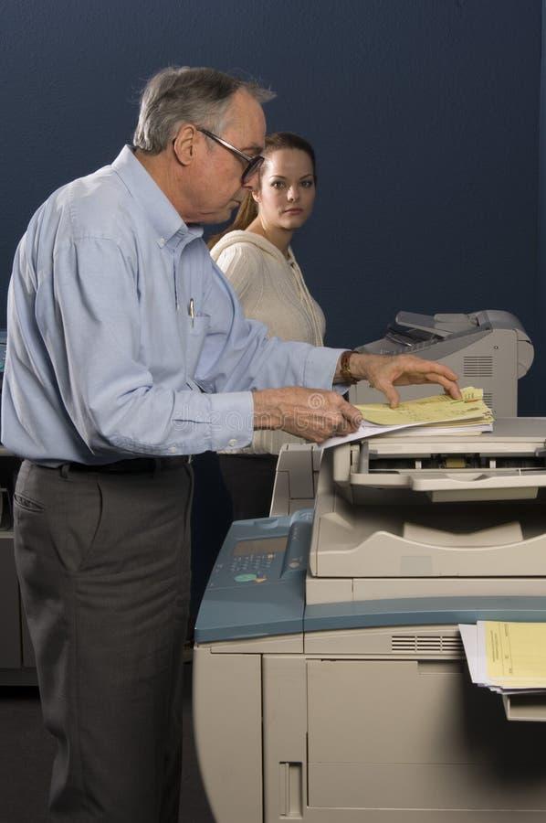 Mensen op het werk stock foto's