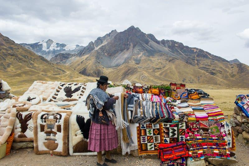 Mensen in Peru royalty-vrije stock fotografie
