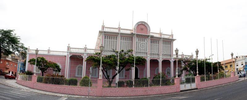Mensen` s Paleis, Sao Vicente, Mindelo stock fotografie