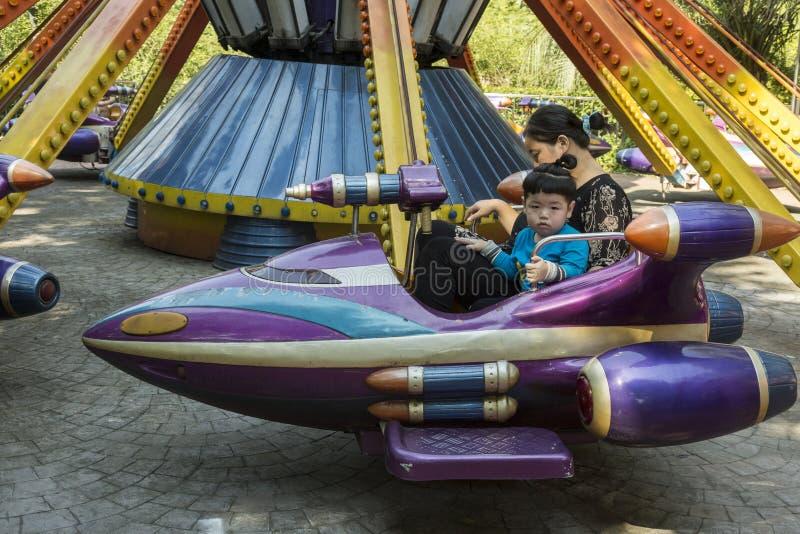 Mensen` s Park in Shanghai, China royalty-vrije stock afbeeldingen
