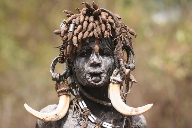 Mensen van Afrika royalty-vrije stock foto's