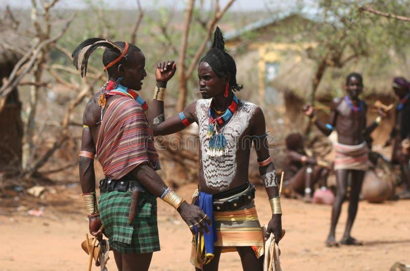 Mensen van Afrika royalty-vrije stock foto