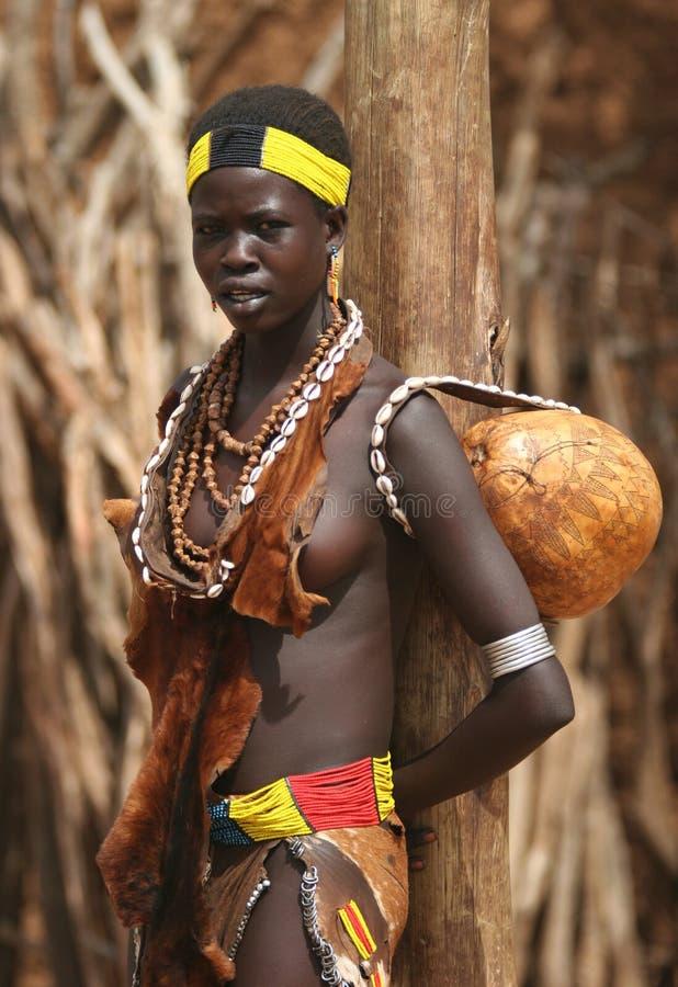 Mensen van Afrika stock foto's
