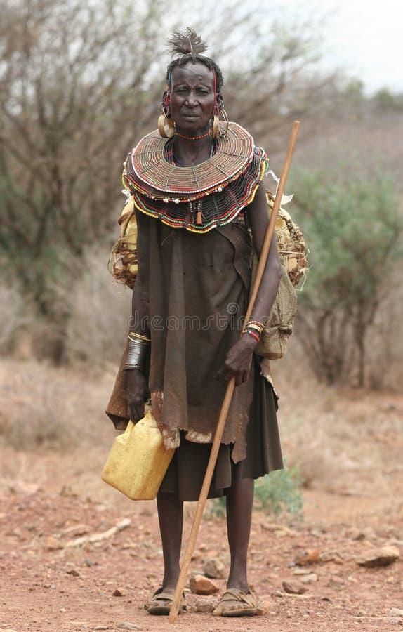 Mensen van Afrika royalty-vrije stock fotografie