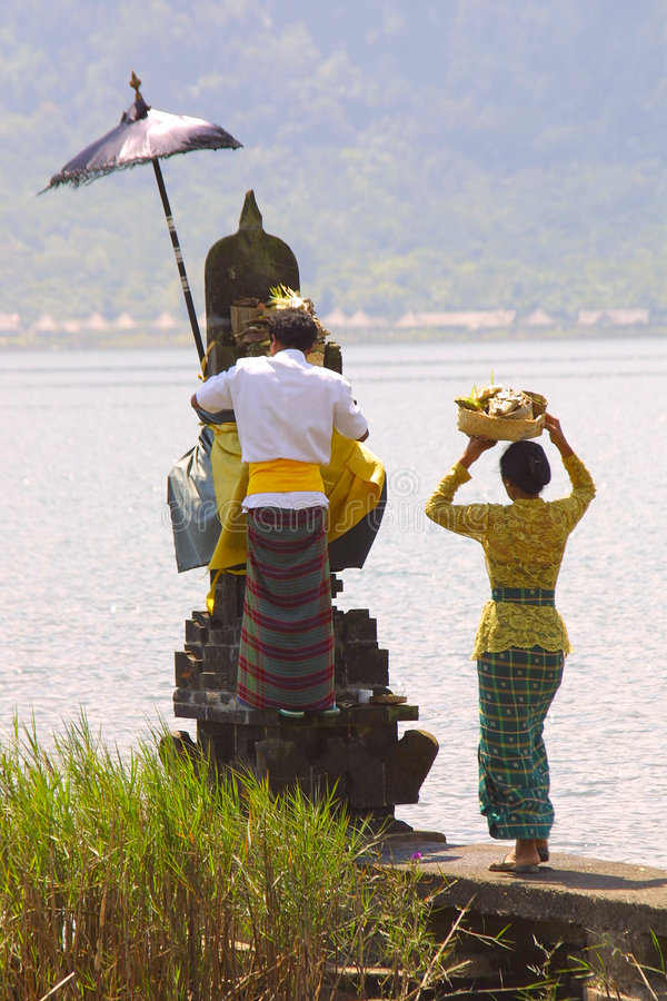 Mensen van Bali royalty-vrije stock foto