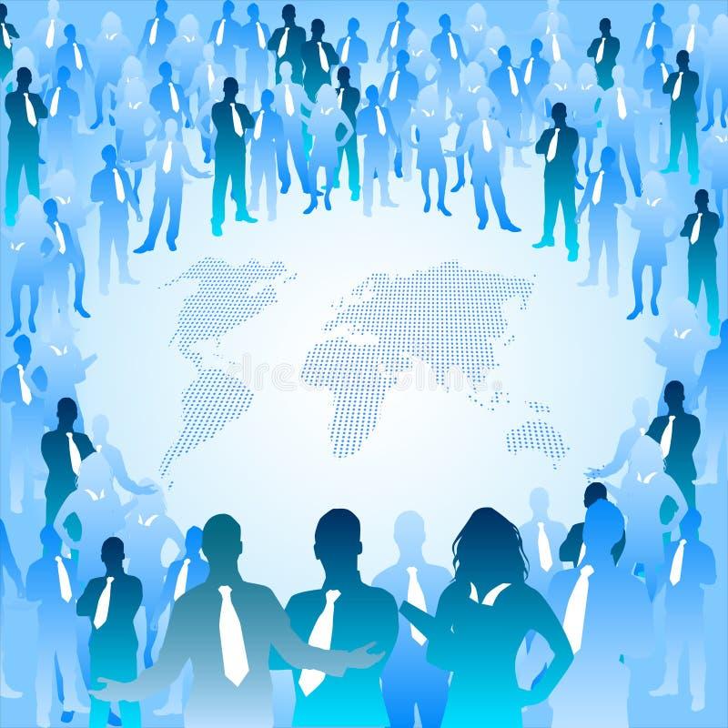 Mensen van de Wereld vector illustratie