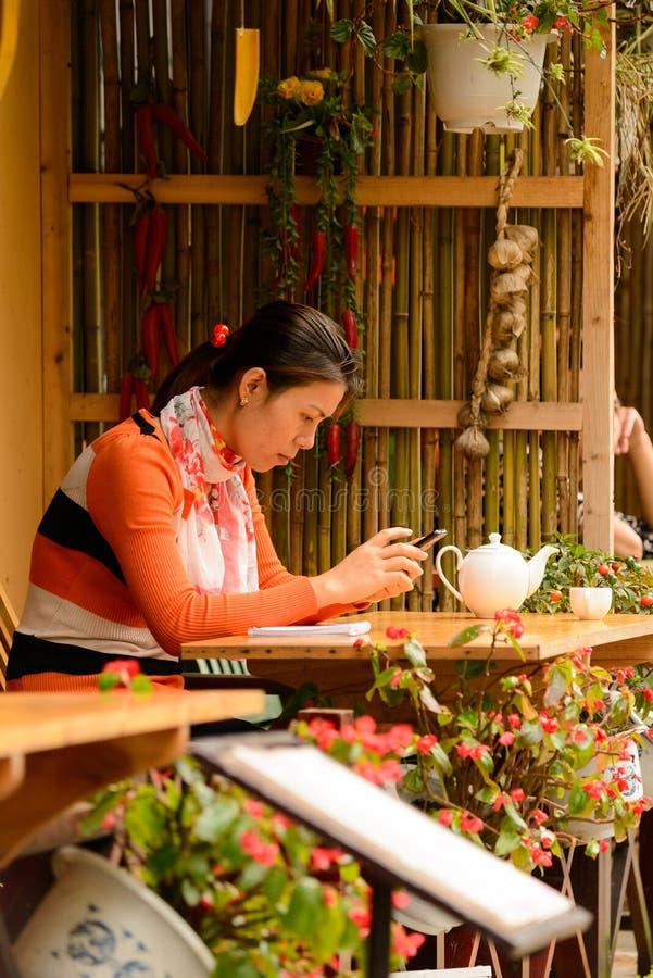 Mensen van Sapa, Vietnam royalty-vrije stock foto's
