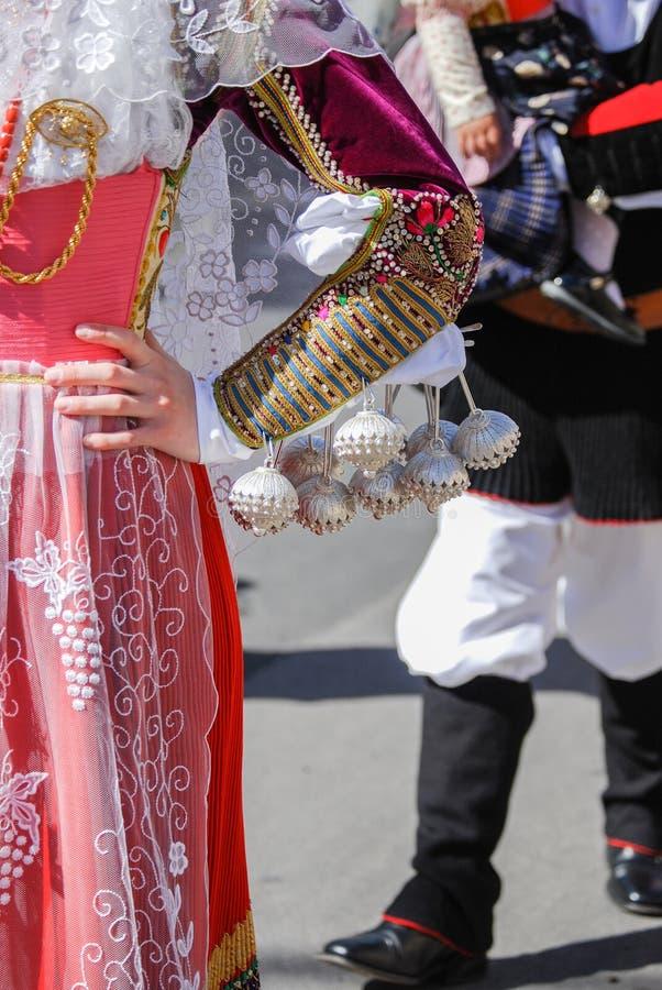 Mensen van Sardinige stock foto