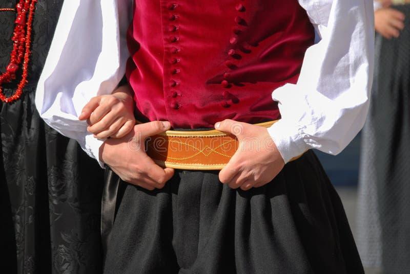 Mensen van Sardinige royalty-vrije stock fotografie