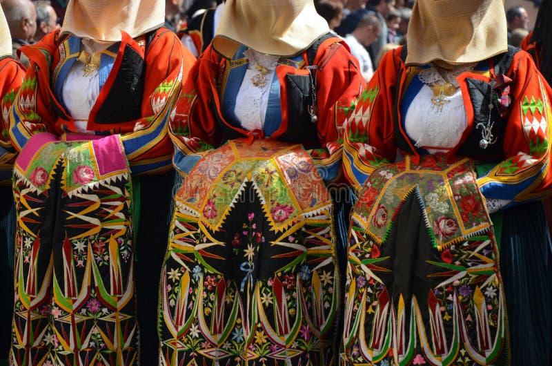 Mensen van Sardinige royalty-vrije stock afbeeldingen