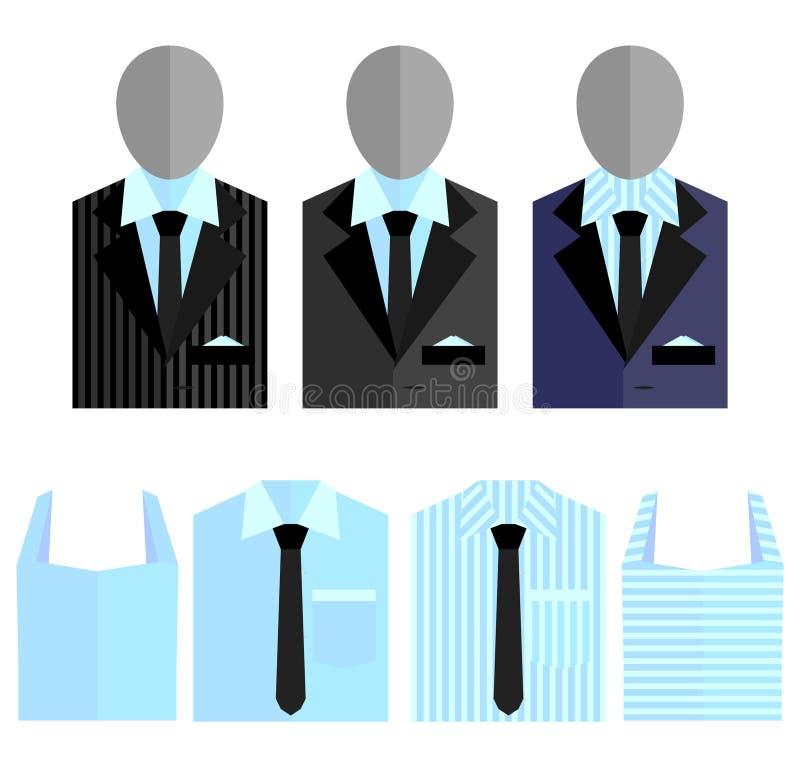 Mensenkostuum stock illustratie