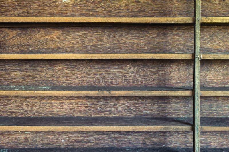 Mensola di legno immagine stock