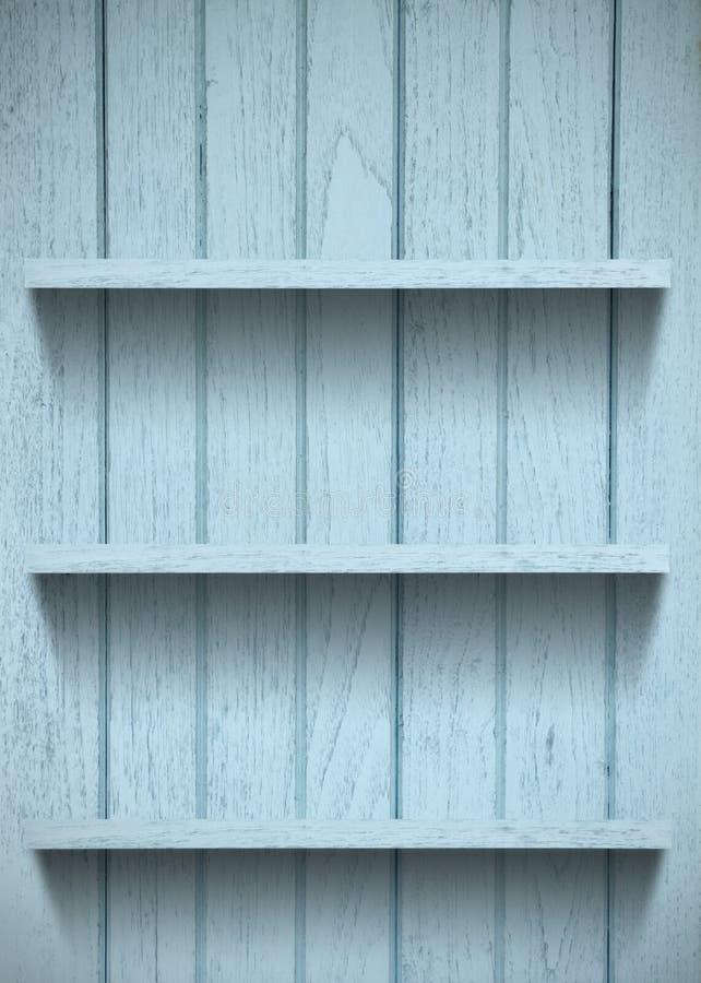 Mensola di legno dell'annata immagini stock