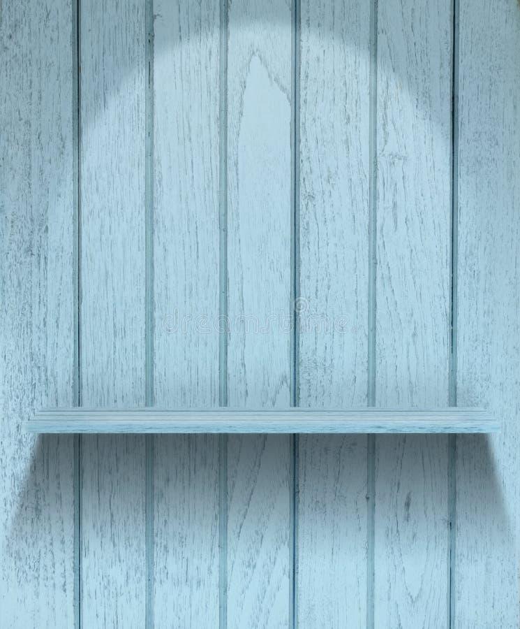 Mensola di legno dell'annata immagine stock