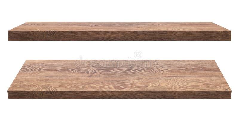 Mensole di legno immagine stock immagine di comitato for Mensole legno bianco