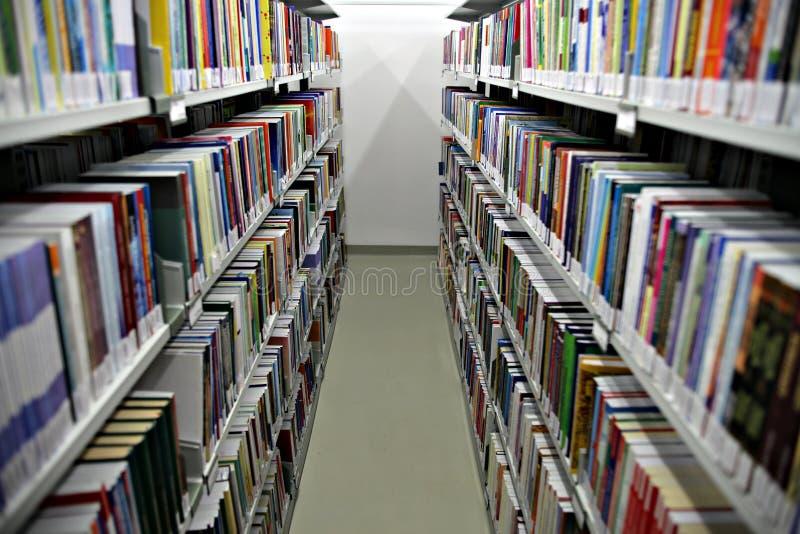 Mensole di libro immagini stock libere da diritti