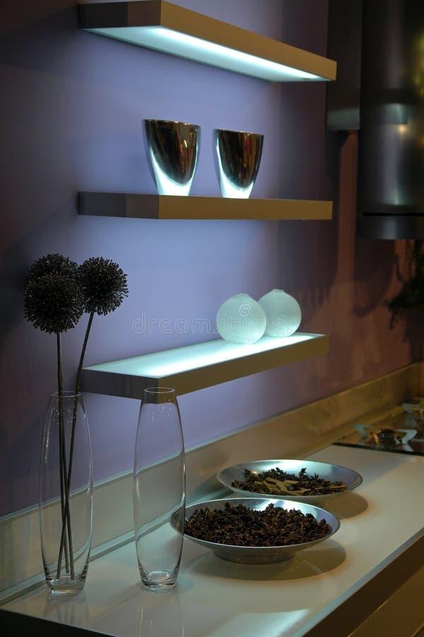 Mensole Vetro Illuminate.Immagini Di Riserva Di Mensole Di Vetro Illuminate La