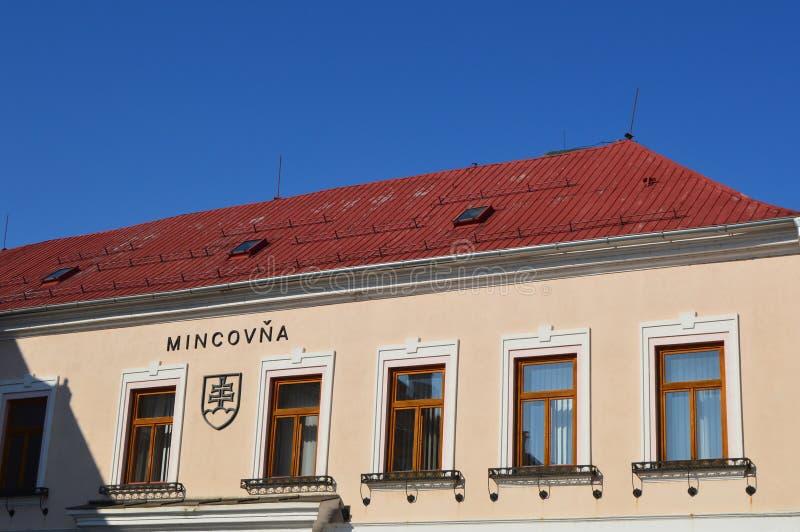 Menta de Monetagium y erbio eslovaco imagen de archivo libre de regalías