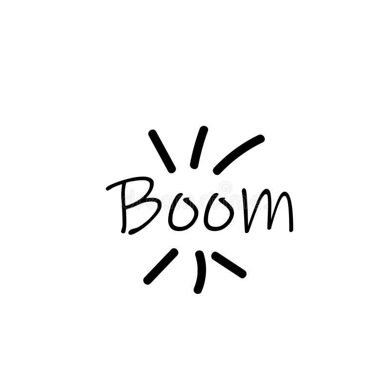 Mente positiva, ambientes, inscripci?n inspirada de la vida, tarjeta de felicitaci?n, tipograf?a para el dise?o de la invitaci?n, ilustración del vector