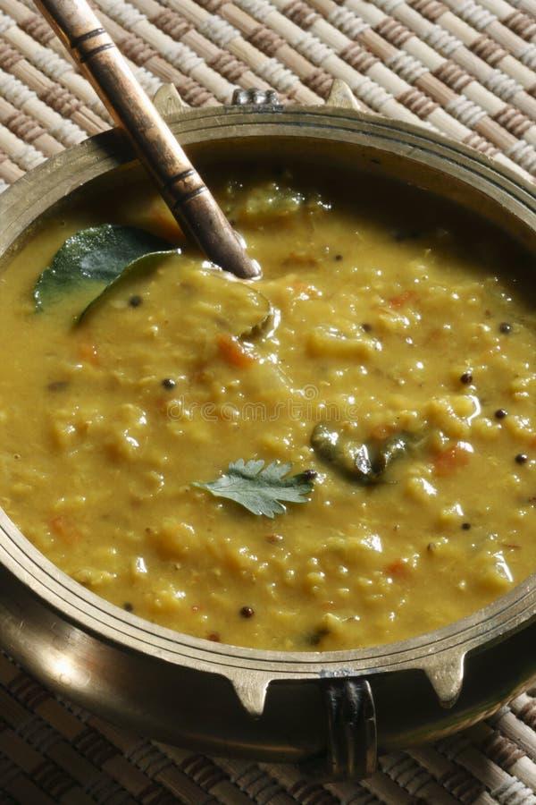 Menthi Dal ou caril da lentilha do feno-grego foto de stock
